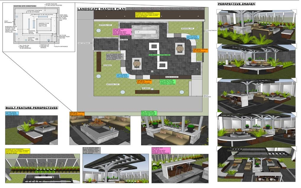 Landscaping Design and Construction Plan