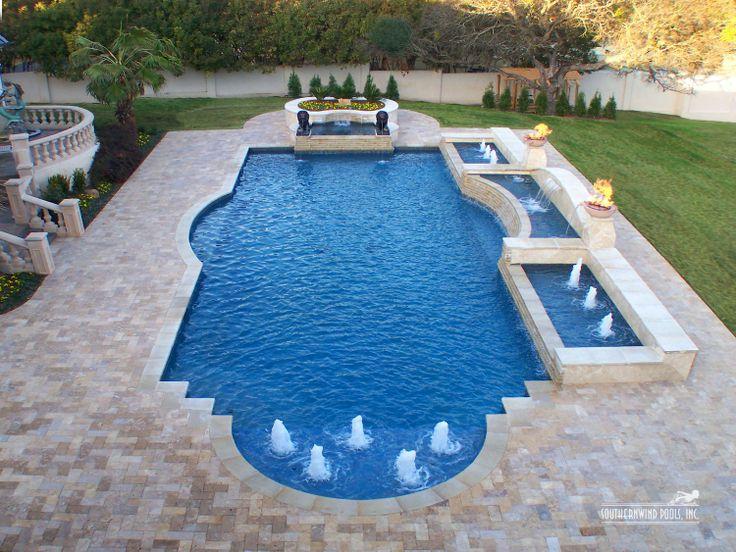 Roman Shaped Pools