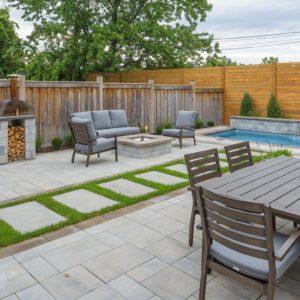 patio pool design