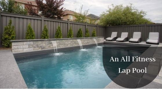 An All Fitness Lap Pool