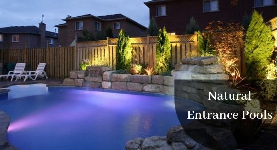 Natural Entrance Pools