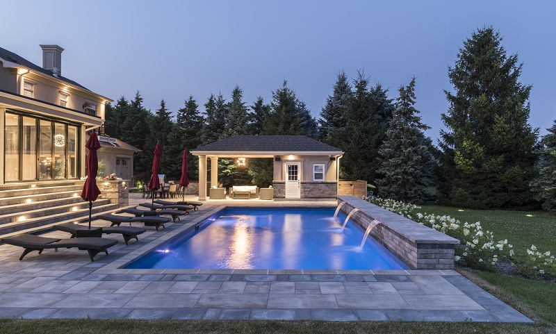 swimming pool designs in Mississauga