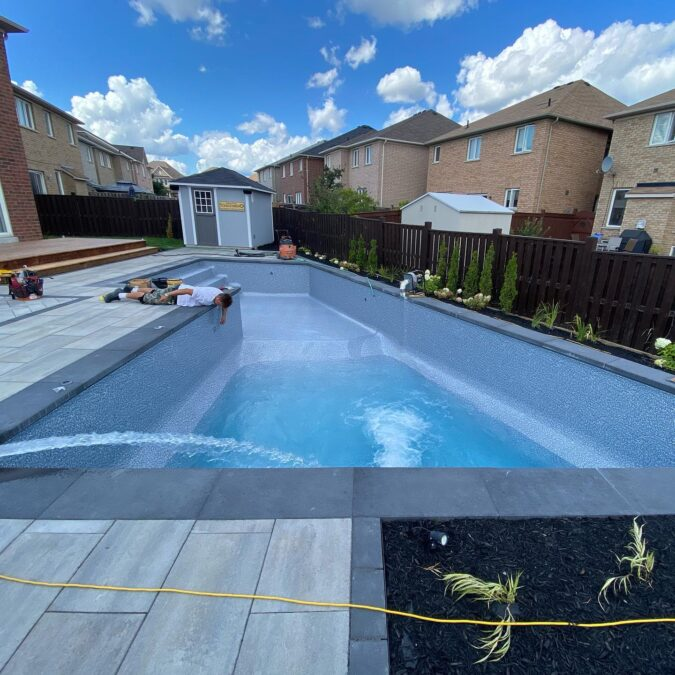 Pool Installation in Mississauga